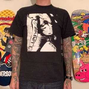 Limp Wrist queer punk sXe tee size Medium